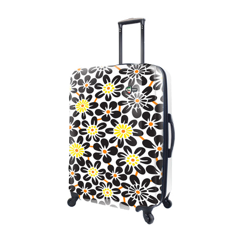 Mia Toro ITALY EKKO Flower Hardside 28'' Spinner Luggage
