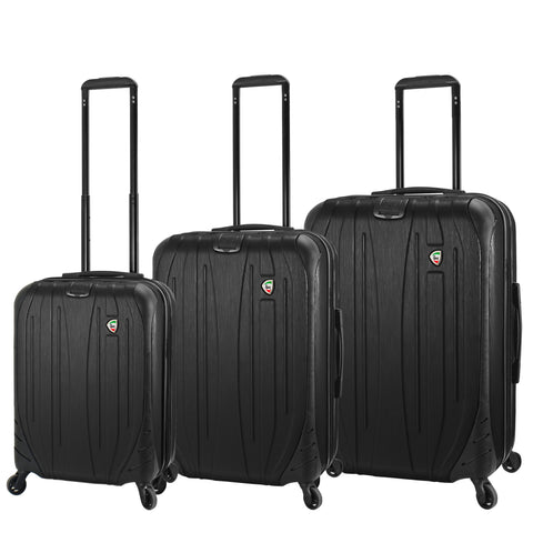 Mia Toro ITALY Ferro Hardside Spinner Luggage Set (3 Pieces)