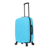 Mia Toro ITALY Molded Art Mozaic Hardside 24'' Spinner Luggage