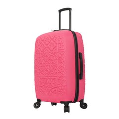 Mia Toro ITALY Molded Art Mozaic Hardside 28'' Spinner Luggage
