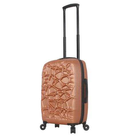 "Mia Toro ITALY ""Web"" Hardside 20'' Spinner Carry-On"