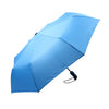Mia Toro Solid Blue Auto Open/Auto Close Umbrella