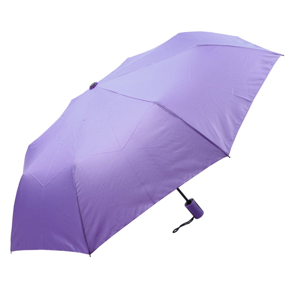 Mia Toro Solid Lilac Auto Open Umbrella