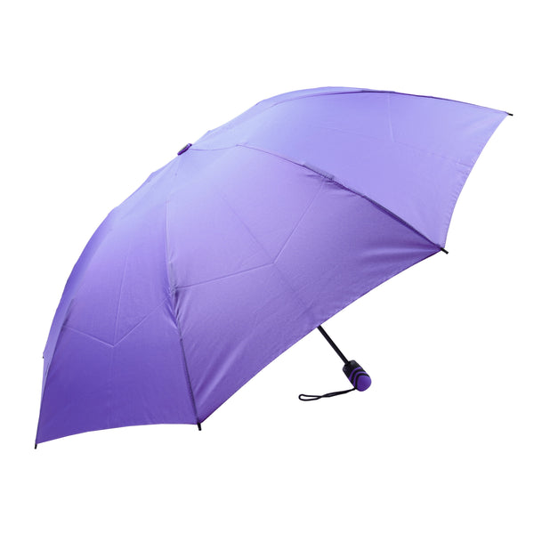 Mia Toro Solid Lilac Auto Open/Auto Close reversible Umbrella