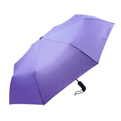 Mia Toro Solid Lilac Auto Open/Auto Close Umbrella
