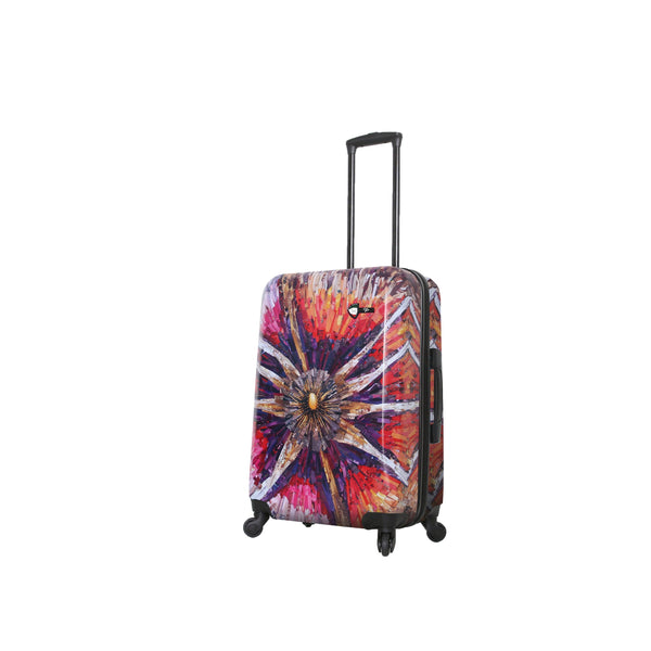 Mia Toro Spider Eye 24'' Hardside Spinner Luggage