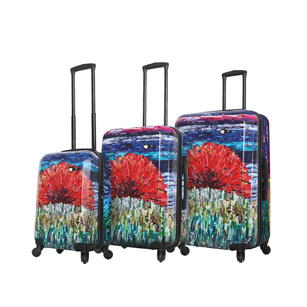 Mia Toro Jennifer L. Schmidt Sunrise Hardside Spinner 3PC Set