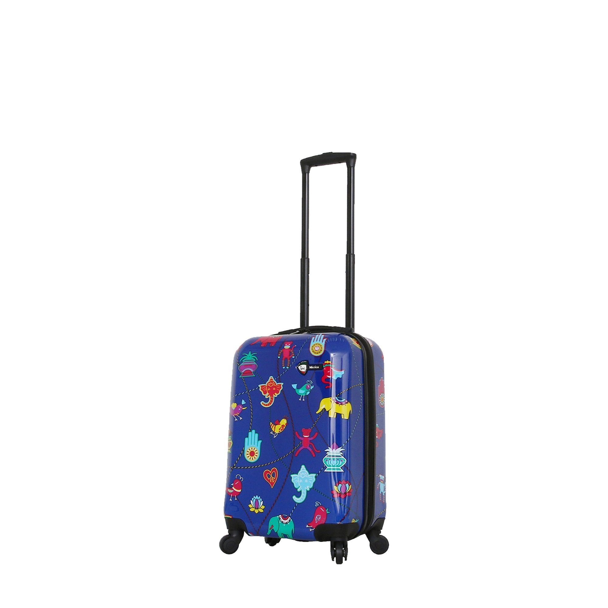 Mistico Hardside Spinner Carry On Luggage by Mia Toro