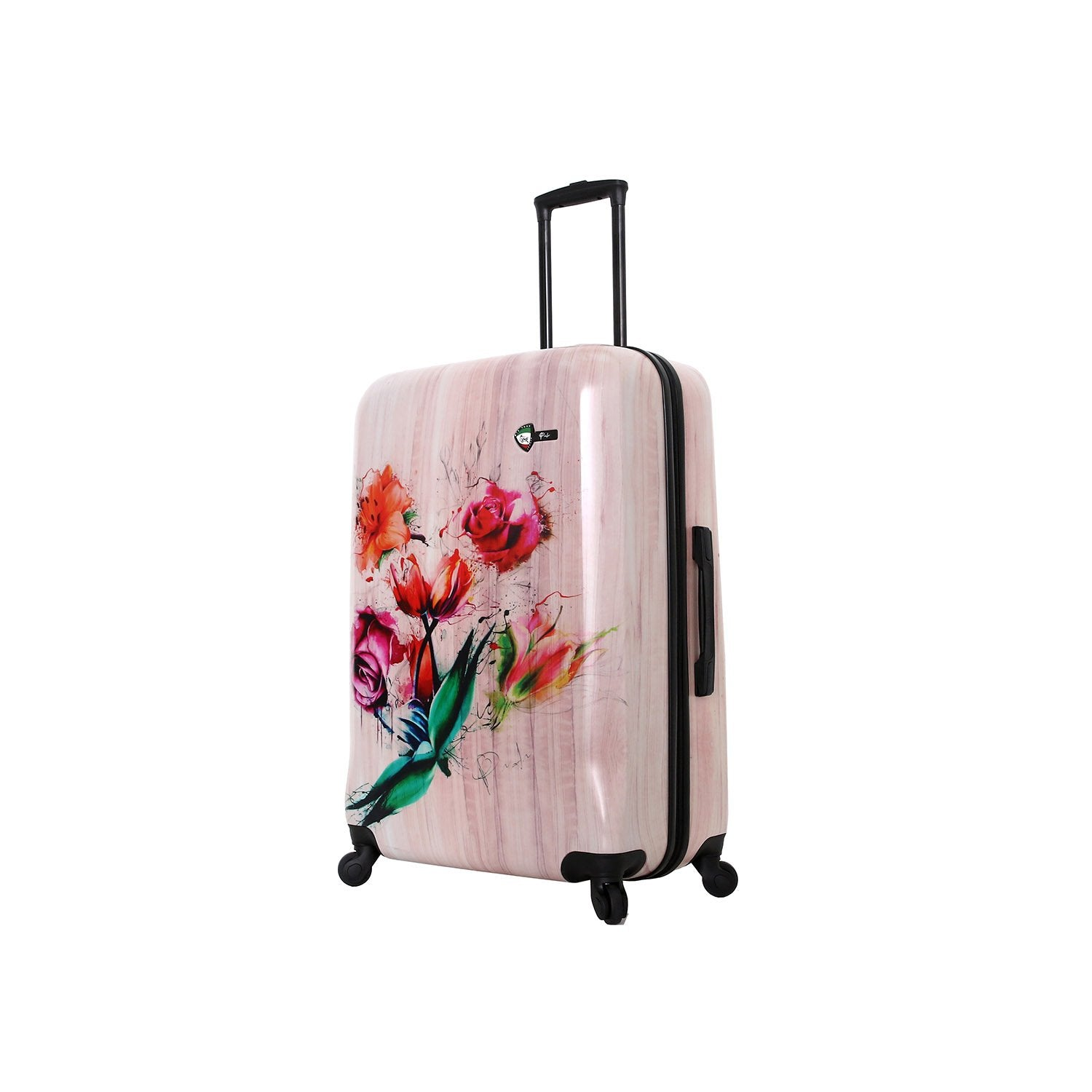 Paola Painted Flowers 28'' Spinner
