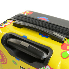 Pop Fiore Retro Hardside Spinner Carry-on Luggage