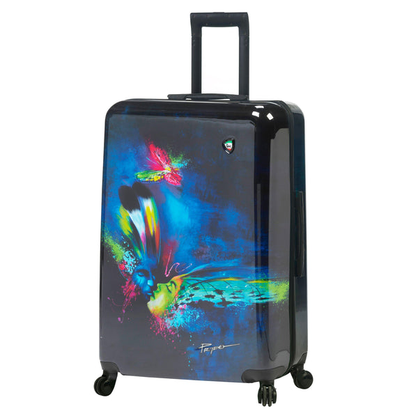 "Prado - Butterfly Kiss Hardside 29"" Spinner"