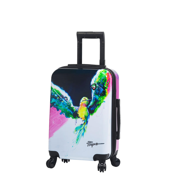 Prado-Exotic Life Hardside Spinner Carry-on