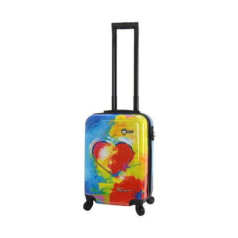 "Prado - ""In Love"" Hardside Spinner Luggage Carry On"