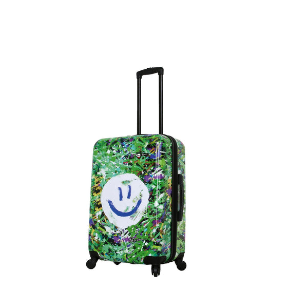 Prado-Peace Love Happiness 24'' Spinner Luggage