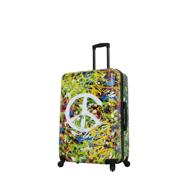 Prado-Peace Love Happiness 28'' Spinner Luggage