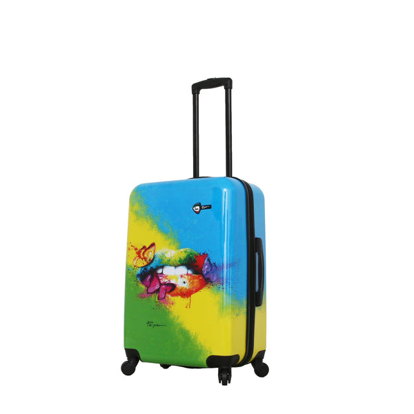 Prado-Pop Lips 24'' Spinner Luggage