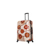 "Ricci Wood Mozaic Flowers 28"" Luggage"