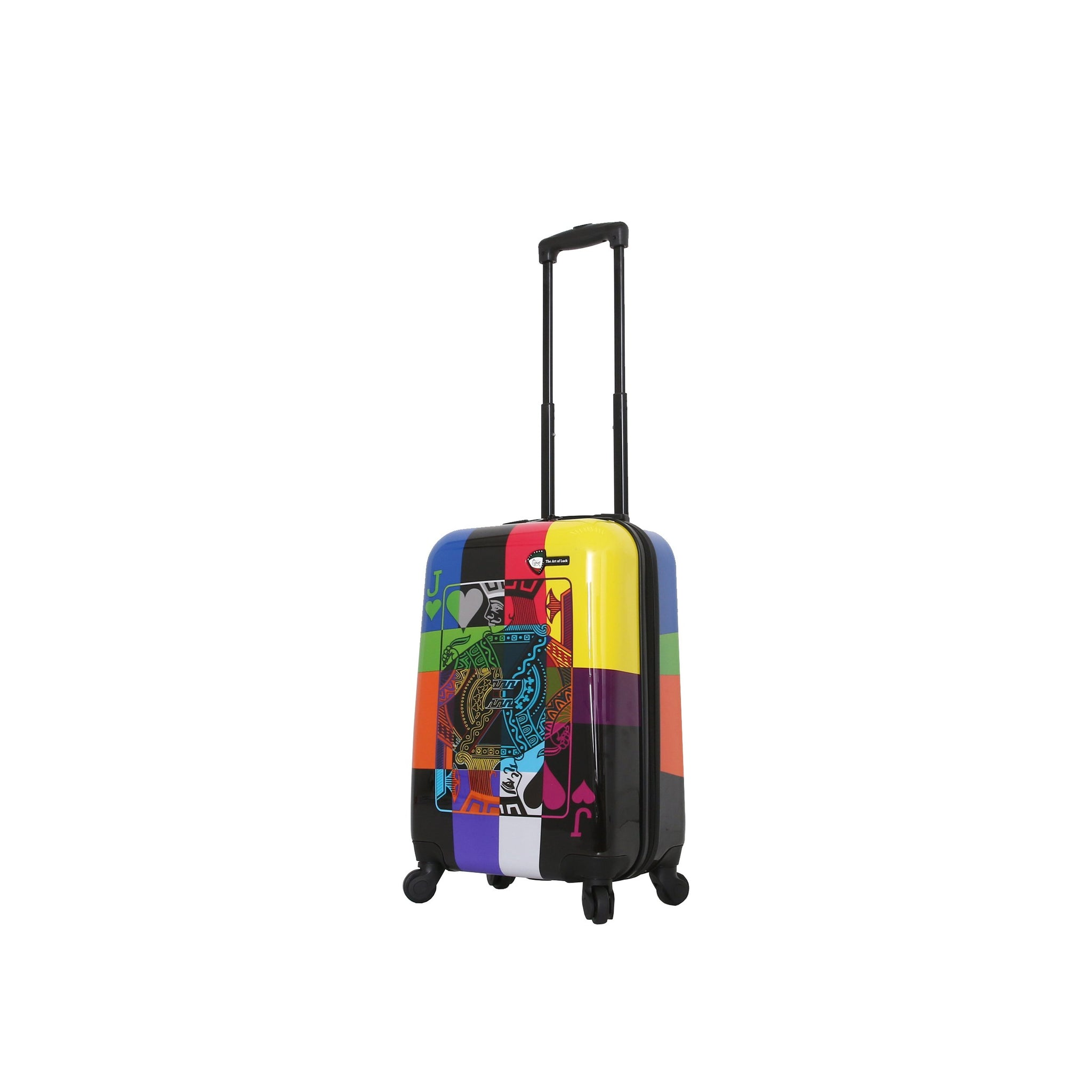 "The Art of Luck 20"" Carry On Luggage"
