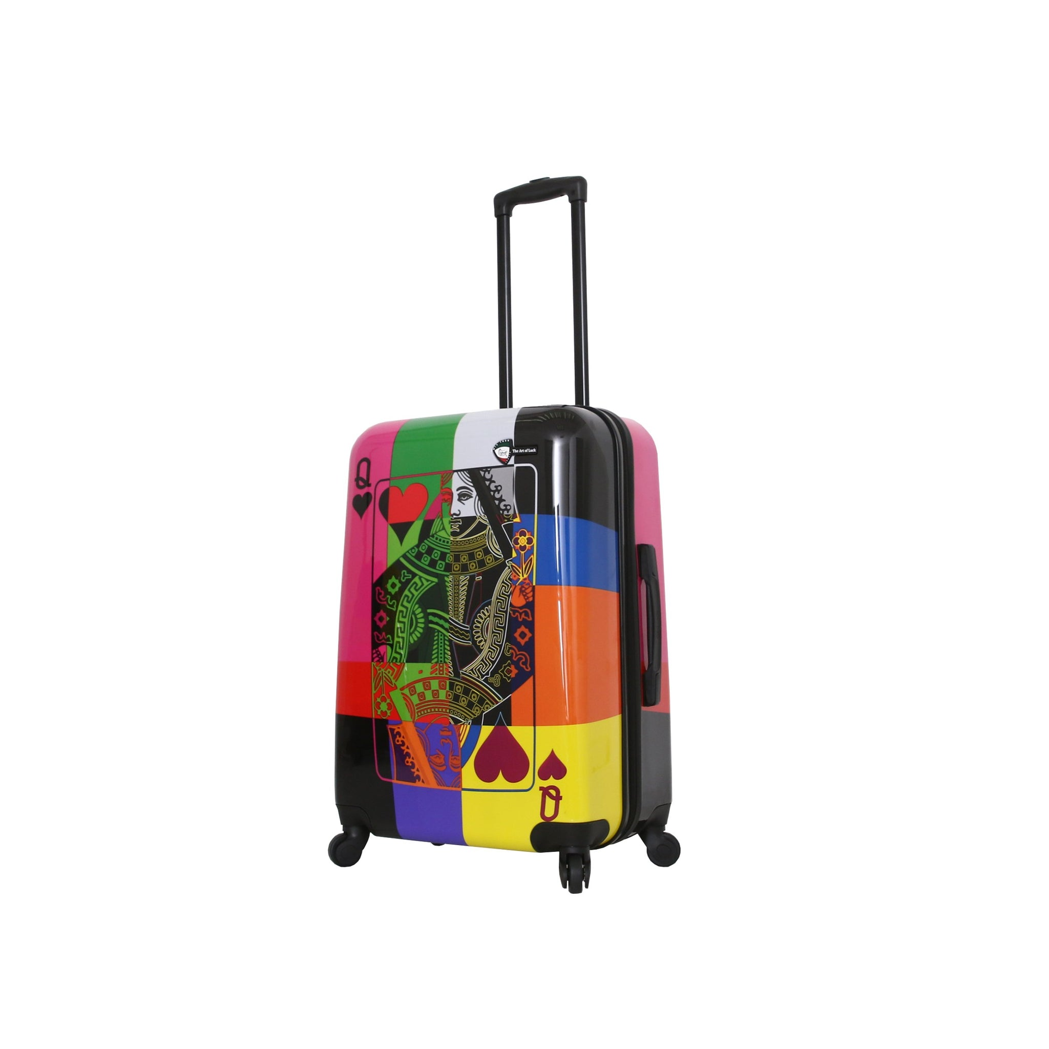 "The Art of Luck 24"" Spinner Luggage"