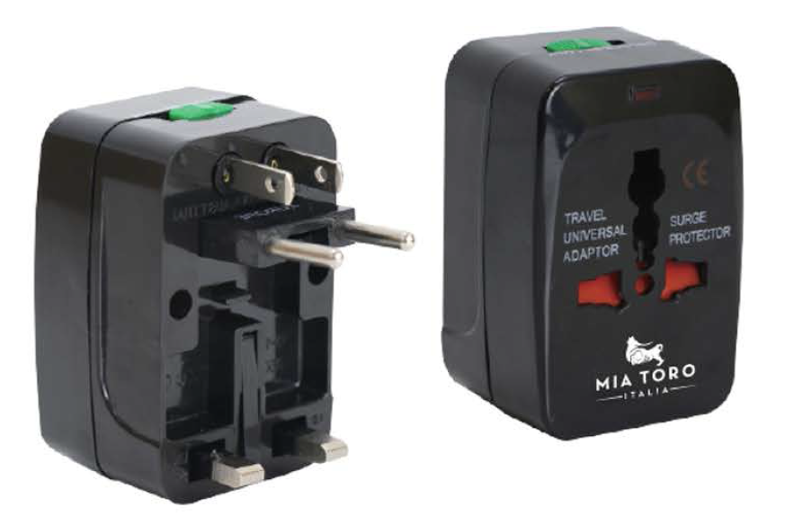 World Travel Adapter & Surge Protector