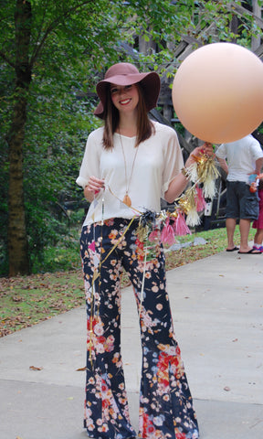 Foxy Floral Pant