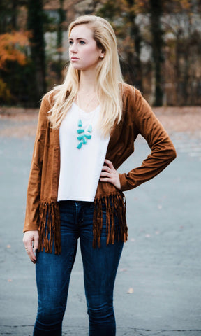 Fringe With Benefits Jacket