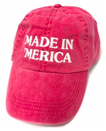 Made in Merica Baseball Hat