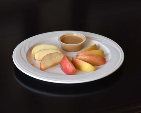 apple peanut butter snack weightloss