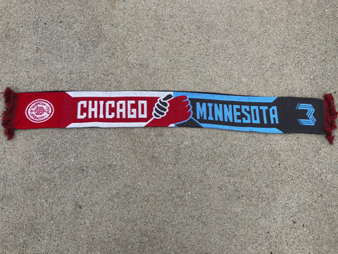 Wonderwall x Section 8 Chicago Unite Against Hate Scarf