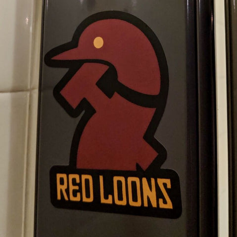 Red Loons - Logo Sticker