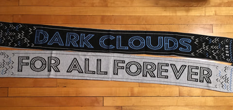 2018 Dark Clouds Season Scarf