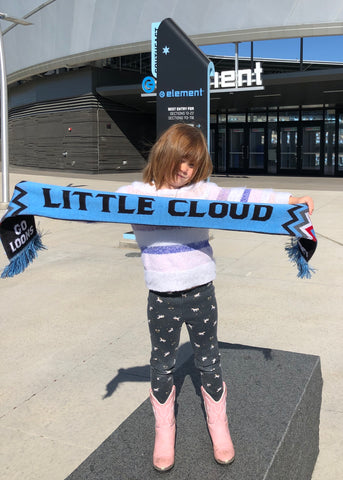 Little Clouds Kid Scarf