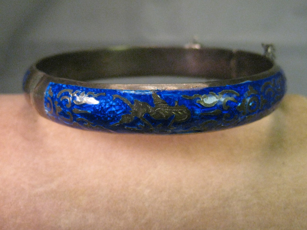 bangle bangles jewelry bracelets sterling hinged mexican bracelet htm silver vintage