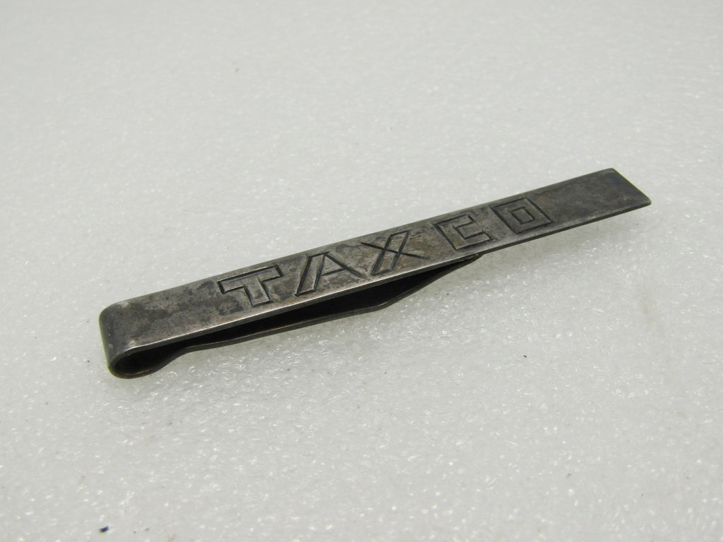 Vintage Sterling Silver Taxco Tie Bar by Damasco Gallegos, Taxco Mexico, 13.05gr., 3""