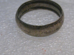 Vintage Australian Trench Art Coin Ring, Florin Coin, WWII, sz. 10, 4.93 gr.