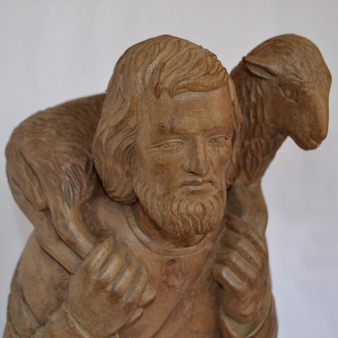 Medard Bourgault carving
