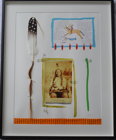 Sitting Bull by Barry Ace