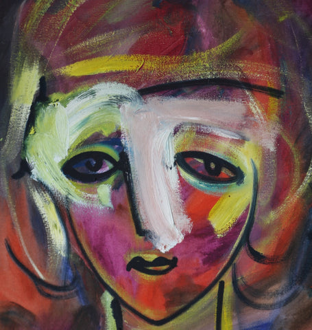 Alexandre Sach Putov Woman with Mask