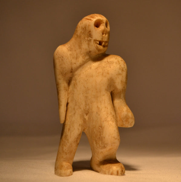 Shaman Sasquatch carving