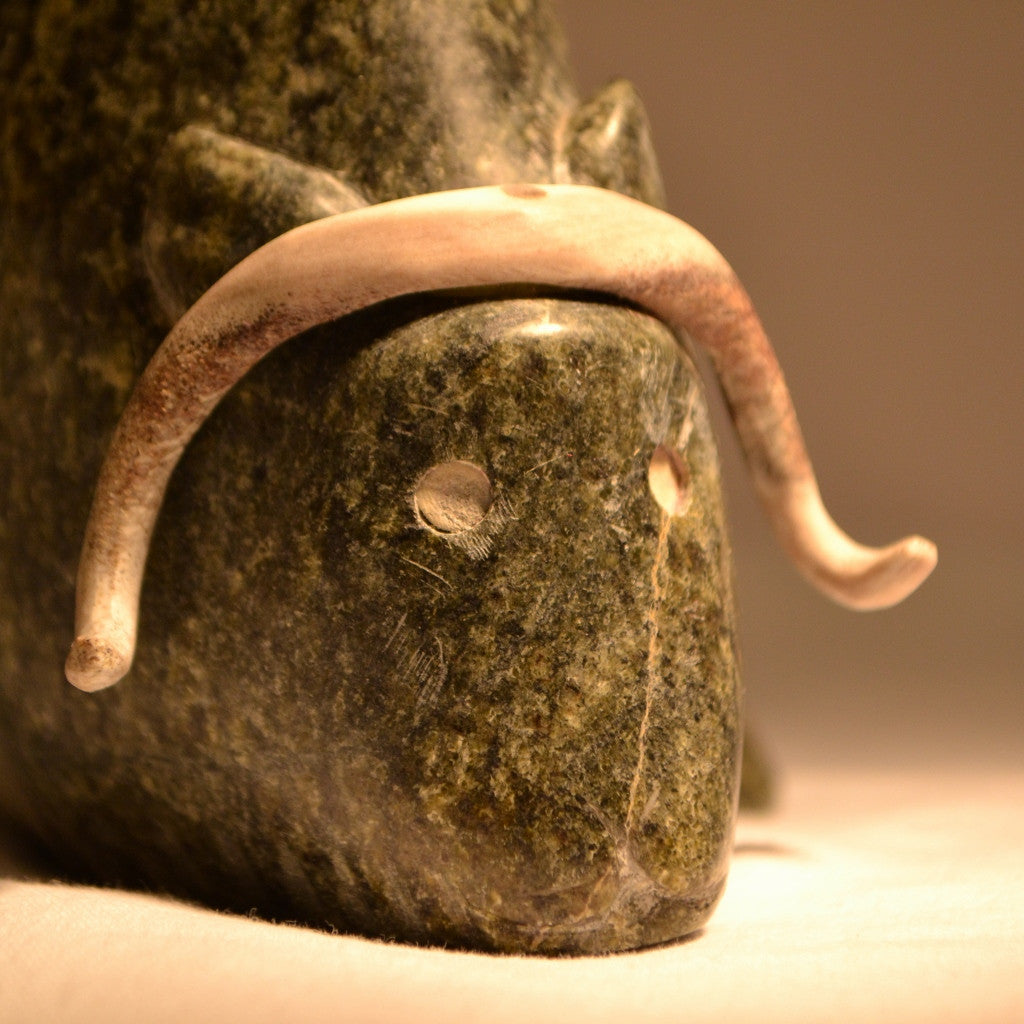 Spirit Muskox Carving