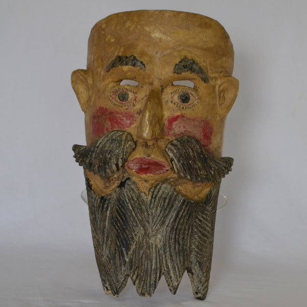 Mexican Man Mask with Beard