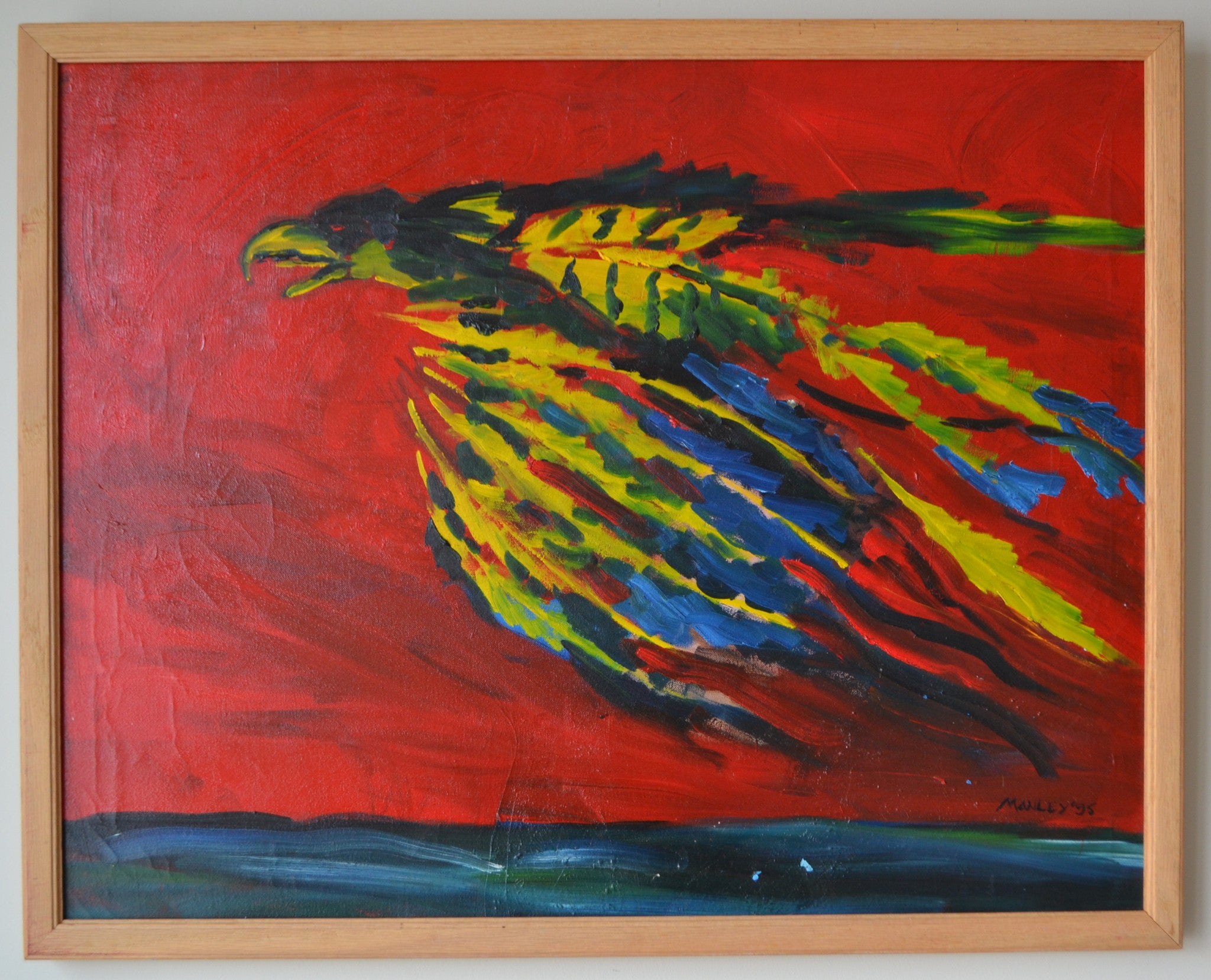 Spirit Bird painting by Greg Manly