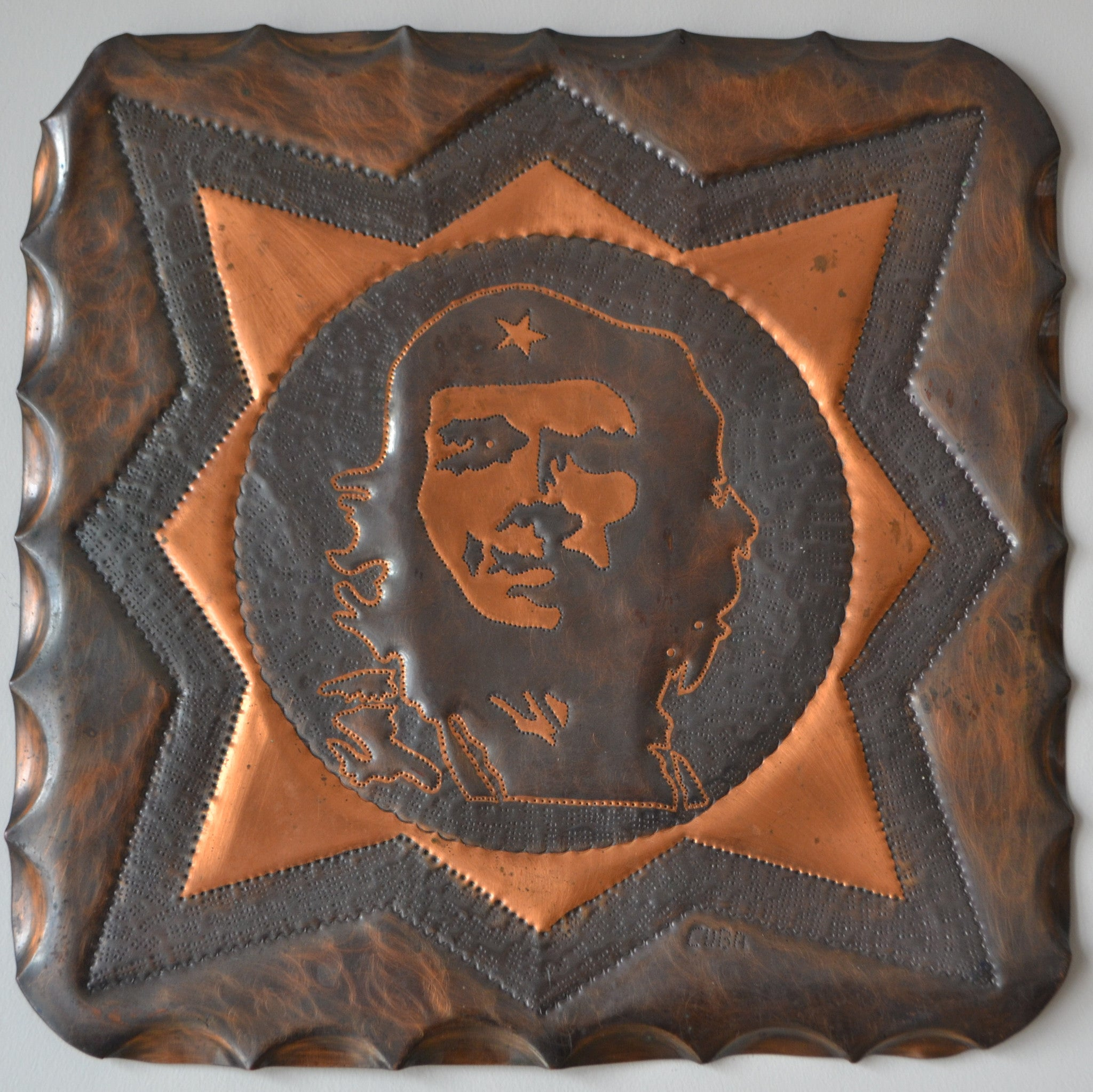 Che Gueverra copper portrait