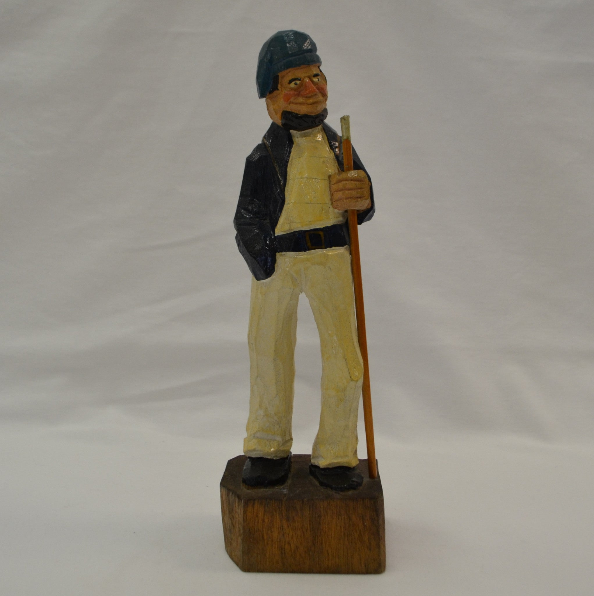 Folk Art Sailor Carving - Langford Gallery