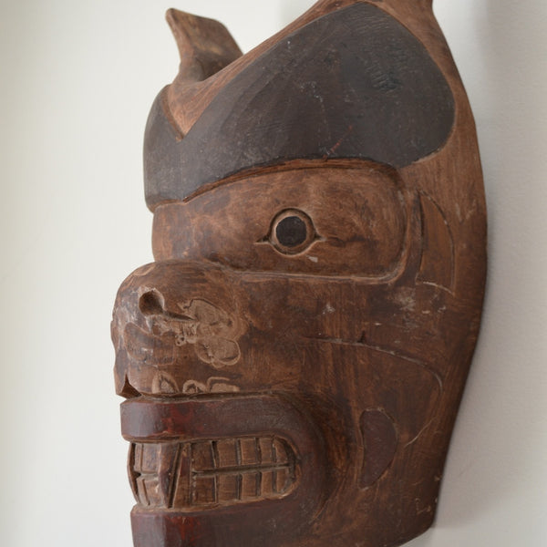 Vintage west coast bear mask