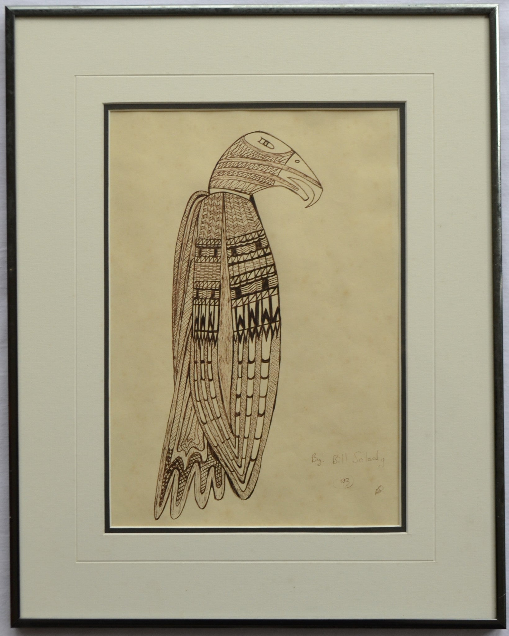 Eagle back by Bill Selody - full
