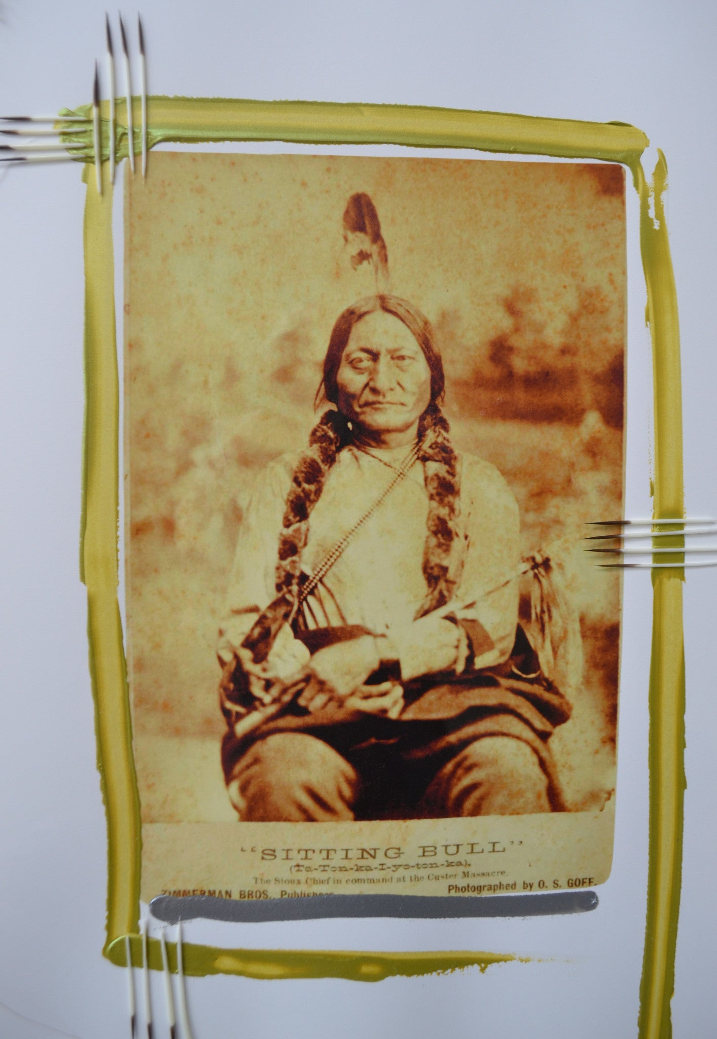 Ta Tonka Iyotonka (Sitting Bull) by Barry Ace