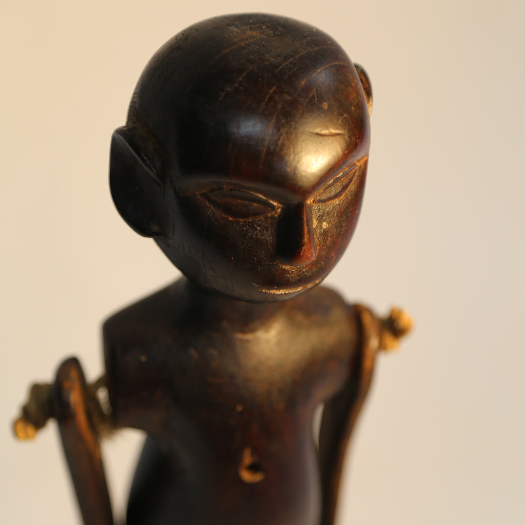 Asian Wooden Doll