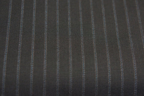 Suit fabric C0006 navy double stripe
