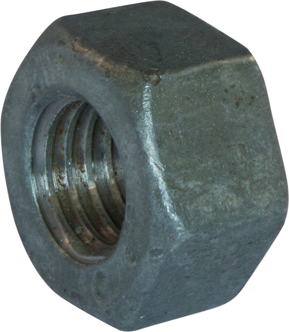 3-8 A194 2H Heavy Hex Nut Hot Dipped Galvanized - FMW Fasteners